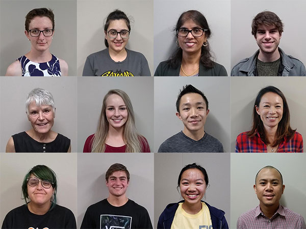 A collage of a diverse group of coding and computer science instructors